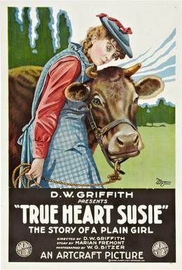 Постер фильма Верное сердце Сузи (1919)