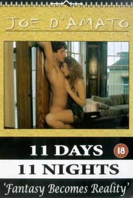 Постер фильма Одиннадцать дней, одиннадцать ночей (1987)