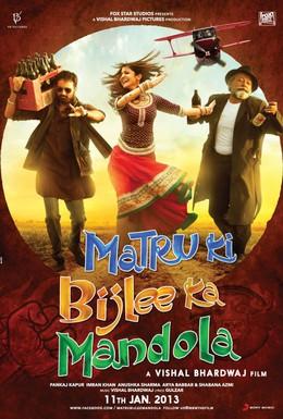 Постер фильма Матру, Биджли и Мандола (2013)