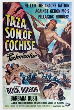Постер фильма Таза, сын Кочиза (1954)