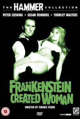 Постер фильма Франкенштейн создал женщину (1967)