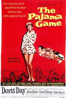 Постер фильма Пижамная игра (1957)
