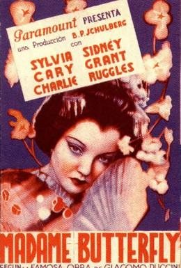 Постер фильма Мадам Батерфляй (1932)