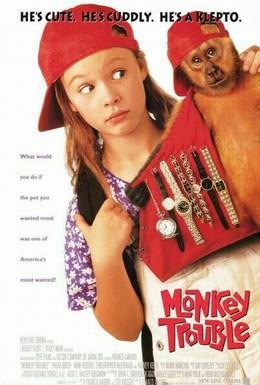 Постер фильма Неприятности с обезьянкой (1994)