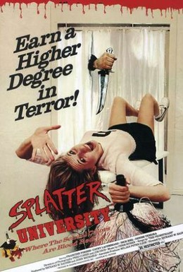 Постер фильма Окрапленный университет (1984)