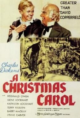Постер фильма Рождественский гимн (1938)