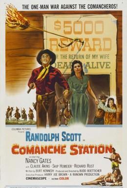 Постер фильма Станция Команч (1960)