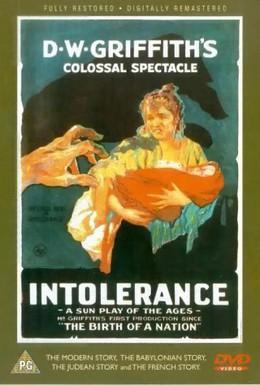 Постер фильма Нетерпимость (1916)