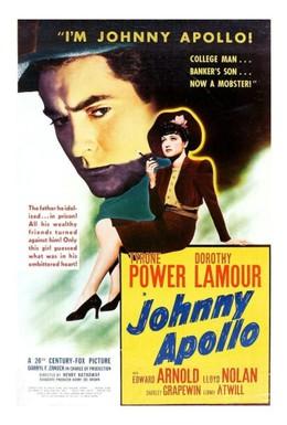 Постер фильма Джонни Аполлон (1940)