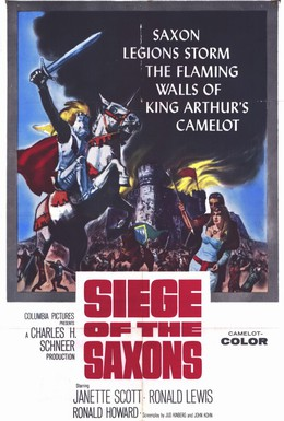 Постер фильма Саксы захватывают трон (1963)