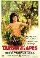 Тарзан, приемыш обезьян (1918)