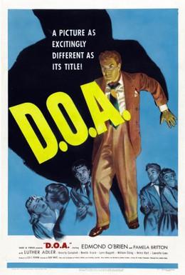 Постер фильма Мёртв по прибытии (1950)