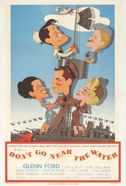 Постер фильма Не подходи к воде (1957)