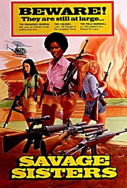 Постер фильма Дикие сестры (1974)