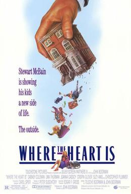 Постер фильма Дом там, где сердце (1990)