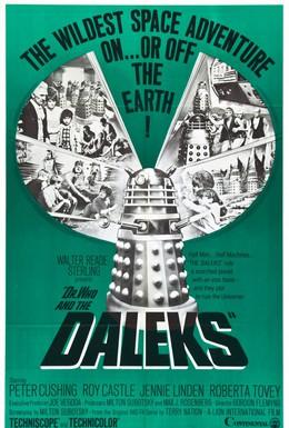 Постер фильма Доктор Кто и Далеки (1965)
