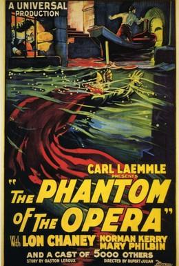 Постер фильма Призрак оперы (1925)