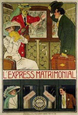 Постер фильма Брачный экспресс (1912)
