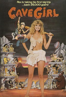 Постер фильма Пещерная девушка (1985)