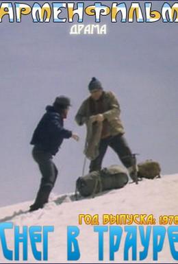 Постер фильма Снег в трауре (1978)