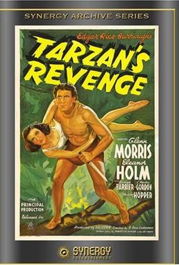Постер фильма Месть Тарзана (1938)
