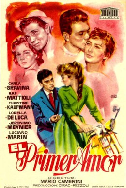 Постер фильма Первая любовь (1959)