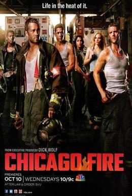 Постер фильма Чикаго в огне (2012)