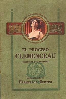 Постер фильма Процесс Клемансо (1917)