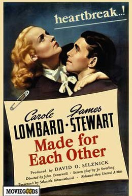 Постер фильма Созданы друг для друга (1939)