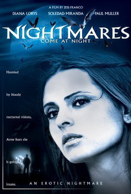 Постер фильма Кошмары приходят ночью (1972)