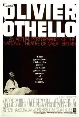 Постер фильма Отелло (1965)