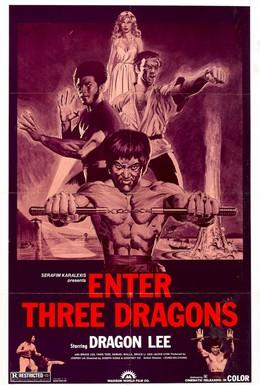 Постер фильма Выход трёх драконов (1979)
