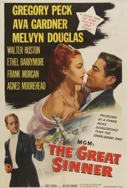 Постер фильма Большой грешник (1949)