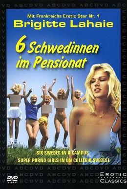 Постер фильма Шесть шведок в пансионате (1979)