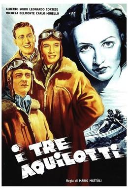 Постер фильма Три орленка (1942)