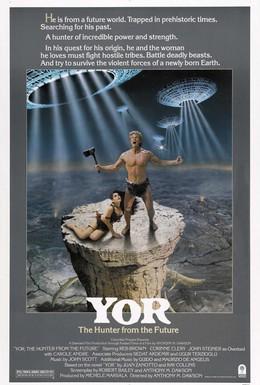 Постер фильма Йор, охотник будущего (1983)