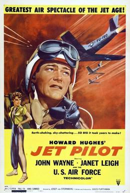 Постер фильма Пилот реактивного самолета (1957)