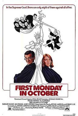 Постер фильма Первый понедельник октября (1981)