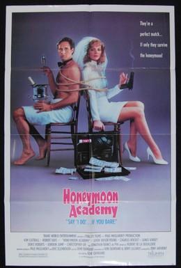 Постер фильма Сумасшедший медовый месяц (1989)