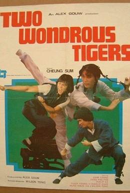 Постер фильма Два дивных тигра (1979)