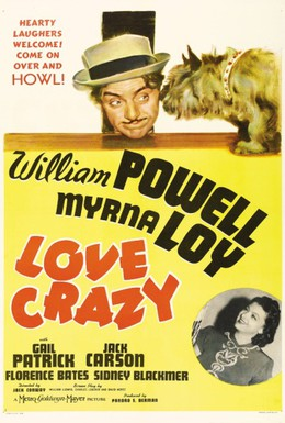 Постер фильма Любовное безумие (1941)