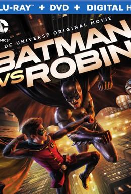Постер фильма Бэтмен против Робина (2015)