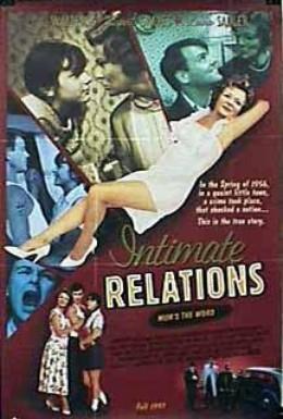 Постер фильма Интимные отношения (1996)