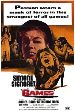 Постер фильма Игры (1967)