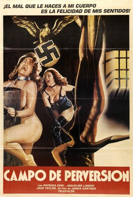 Постер фильма Натали в нацистском аду (1978)