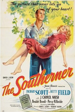 Постер фильма Южанин (1945)