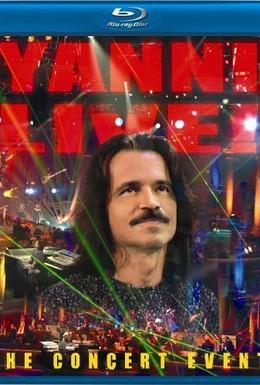 Постер фильма Yanni Live! The Concert Event (2006)