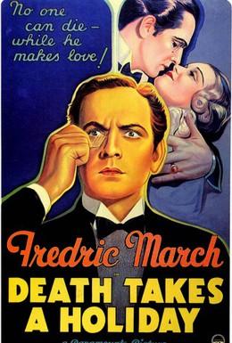 Постер фильма Смерть берёт выходной (1934)