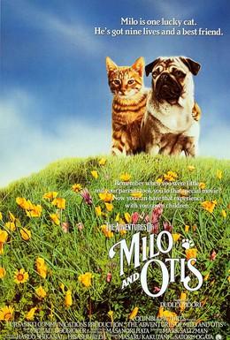 Постер фильма Приключения Майло и Отиса (1986)