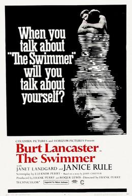 Постер фильма Пловец (1968)